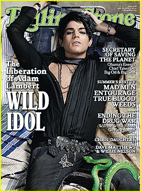 Adam Lambert: I'm Gay (Rolling Stone Cover)