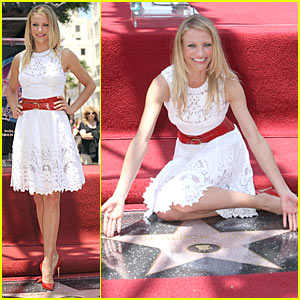 Cameron Diaz: Starred on Hollywood Walk of Fame