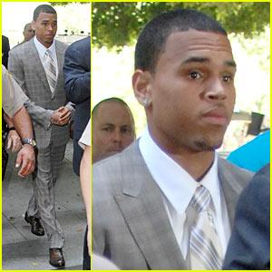 Chris Brown Plea Deal -- No Jail Time!