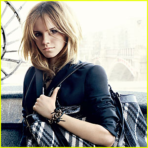 Emma Watson's Burberry Ads -- FIRST LOOK!
