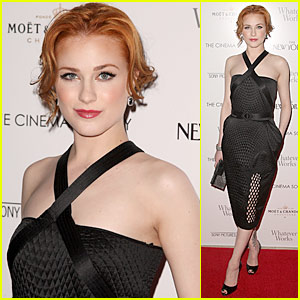 Evan Rachel Wood is Flora Plum Pretty