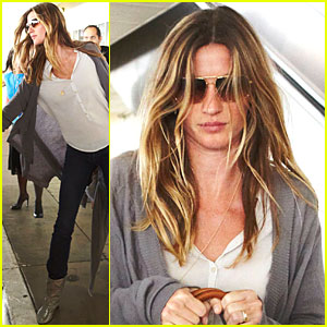 Gisele Bundchen: The Baby Has Landed!