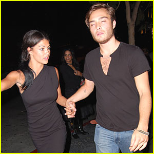 Jessica Szohr &#038; Ed Westwick: Bardot Beautiful!