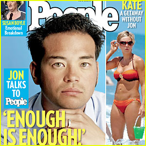 Jon Gosselin Scores People Magazine Cover