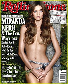 Miranda Kerr Covers Rolling Stone
