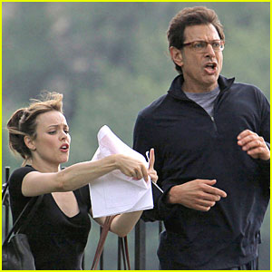 Rachel McAdams & Jeff Goldblum: Morning Glory!