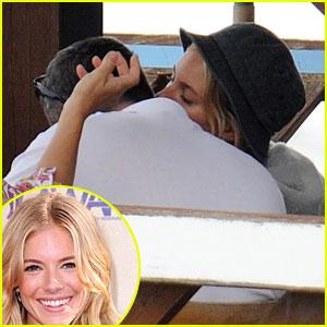 Sienna Miller & Balthazar Getty: Kissing Couple Again!