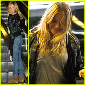 Sienna Miller Does Tons Of Traveling