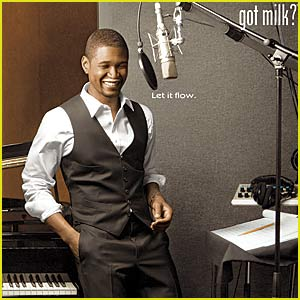 Usher: GOT MILK?