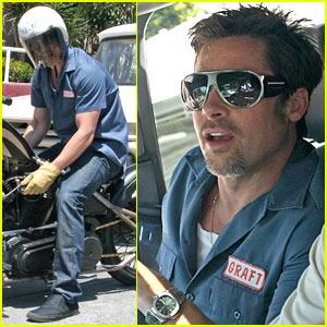 Brad Pitt Has a Breakdown