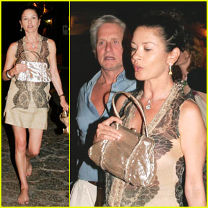 Catherine Zeta-Jones & Michael Douglas: Double Date Dinner