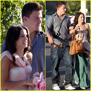 Channing Tatum: Wedding Rehearsal Pictures!