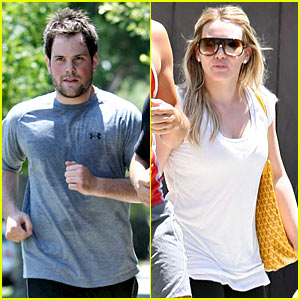 Hilary Duff Gets Pasternak Pretty
