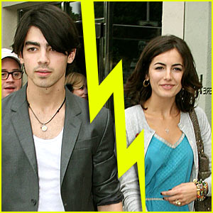 Joe Jonas & Camilla Belle Split