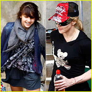 Madonna & Kabbalah Kids Celebrate Fourth of July