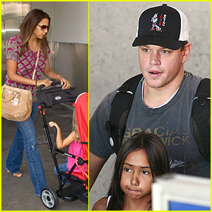 Matt Damon Goes Kid Krazy