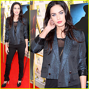 Megan Fox Makes Comic-Con Crazy