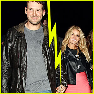 Tony Romo Dumps Jessica Simpson