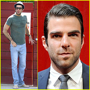 Zachary Quinto Hits ESPY Awards 2009