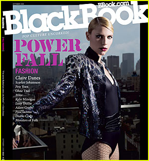 Claire Danes: BlackBook Babe Goes Bold