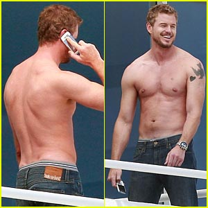 Eric Dane: Shirtless Valentine's Day!