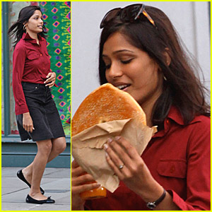 Freida Pinto Gets Excited About Her Engagement
