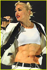 Gwen Stefani: Abs of Steel