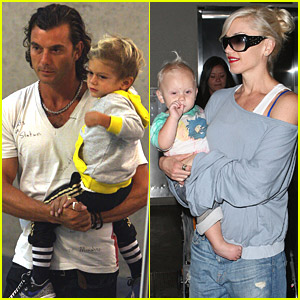 Gwen Stefani's Fun Family Vacation