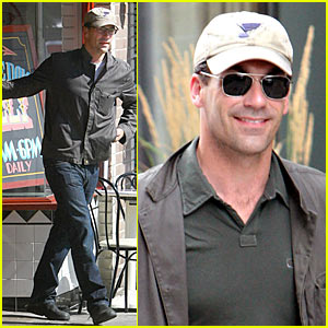 Jon Hamm: Under Cap and Shades
