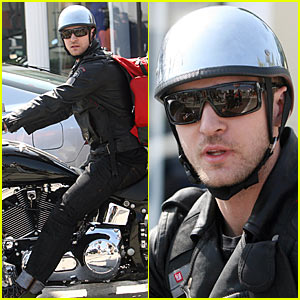 Justin Timberlake is a Motorcycle Man