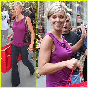 Kate Gosselin Shops FAO Schwarz