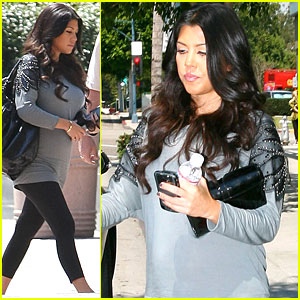 Kourtney Kardashian: Bigger Baby Bump!