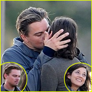 Leonardo DiCaprio & Marion Cotillard Pucker Up In Paris