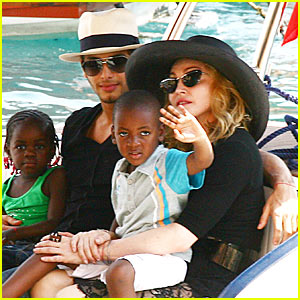 Madonna's 51st Birthday Bash With Jesus Luz