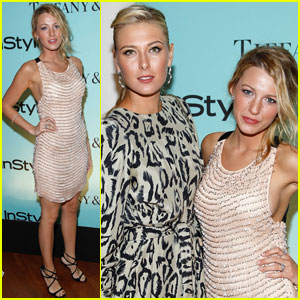 Maria Sharapova: Blake Lively Birthday Celebration!