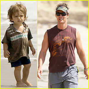 Matthew McConaughey: Levi is a Little Surfer Dude!
