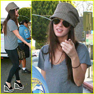 Megan Fox Slapped With Parking Ticket