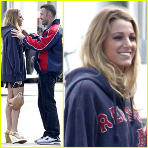 Blake Lively & Ben Affleck Hit The Town
