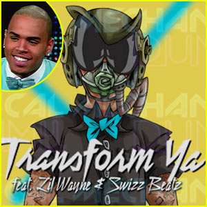 Chris Brown Debuts New Song -- I Can Transform Ya!