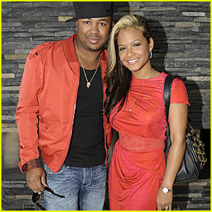 Former husband and wife: Christina Milian and The-Dream