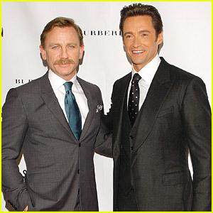 Daniel Craig & Hugh Jackman: A Steady Rain Premiere