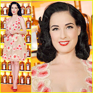 Dita Von Teese is Quite Cointreauversial