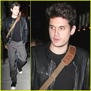 John Mayer Eats Dinner Downtown