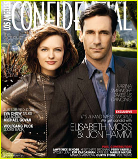 Jon Hamm & Elisabeth Moss: Confidential Couple