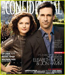 Jon Hamm & Elisabeth Moss: Confidential Couple