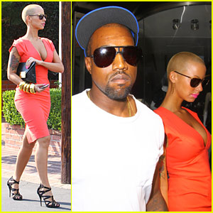 Kanye West & Amber Rose Intermix It Up