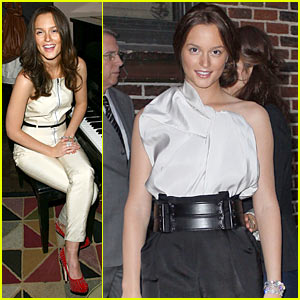 Leighton Meester: The Day Before, The Day After