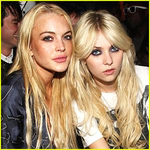 Lindsay Lohan Takes Taylor Momsen Under Her Wings