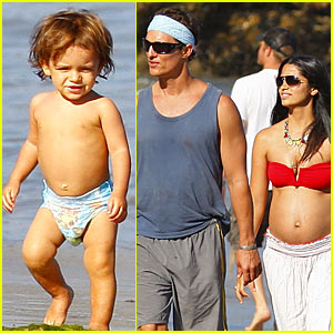 Matthew McConaughey: Labor Day Beach Boy