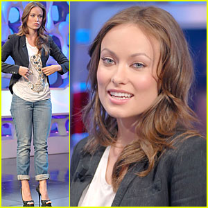 Olivia Wilde: Entertain in Spain!